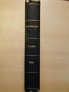 Alföldy Jenő - Orvosképzés különfüzetei (5 db) [antikvár]