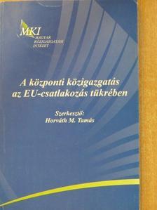 Dr. Balázs István - A központi közigazgatás az EU-csatlakozás tükrében [antikvár]