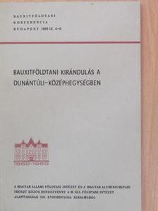 Bárdos Miklós - Bauxitföldtani kirándulás a Dunántúli-középhegységben [antikvár]