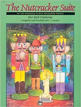 CSAJKOVSZKIJ / TCHAIKOVSKY - THE NUTCRACKER SUITE FOR LATE ELEMENTARY TO EARLY INTERMEDIATE PIANISTS