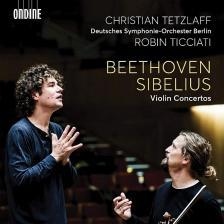 BEETHOVEN, SIBELIUS - VIOLIN CONCERTOS CD TICCIATI