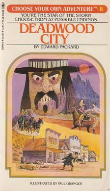 Edward Packard - Deadwood City [antikvár]