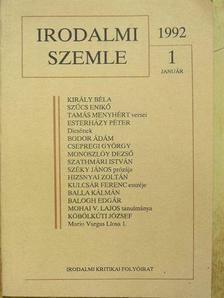 Archleb Gály Tamara - Irodalmi Szemle 1992. január [antikvár]