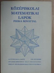 Gnädig Péter - Középiskolai matematikai lapok 1986. november [antikvár]