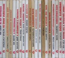 """Angelika Vahlen - """"20 kötet a Gondolat Zsebkönyvek sorozatból (nem teljes sorozat)"""" [antikvár]"""