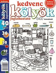 CSOSCH KIADÓ - Kedvenc Kölyök Foglalkoztató 40.