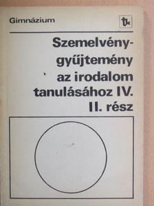 Albert Camus - Szemelvénygyűjtemény az irodalom tanulásához IV/II. [antikvár]