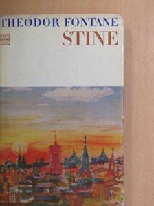 Theodor Fontane - Stine [antikvár]
