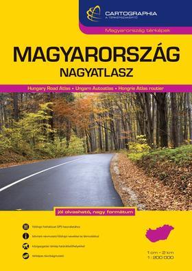 Magyarország nagyatlasz 1:200 000