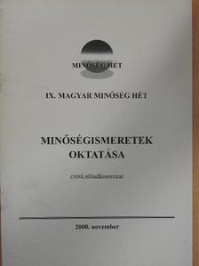 Dániel Péterné - IX. Magyar Minőség Hét [antikvár]
