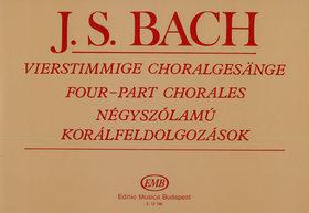 J. S. Bach - NÉGYSZÓLAMÚ KORÁLFELDOLGOZÁSOK (SULYOK IMRE)
