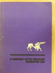 Bérczi László - A Herman Ottó Múzeum Évkönyve XIX. [antikvár]