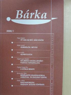 Báger Gusztáv - Bárka 2000/1. [antikvár]