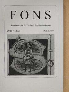 Csákó Judit - FONS 2011/2. [antikvár]