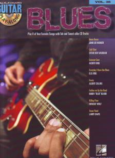 BLUES (PLAY 8 OF YOUR SONGS WITH TAB AND SOUND-ALIKE CD TRACKS) GUITAR PLAY-ALONG VOL.38 + CD