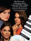 CHRISTINA PERRI, LANA DEL REY, ADELE AND OTHER GREAT ARTISTS! - PLAY PIANO WITH...+ CD