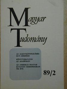 Berend T. Iván - Magyar Tudomány 1989. február [antikvár]