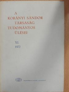 Csaba György - A Korányi Sándor Társaság tudományos ülései XI. [antikvár]