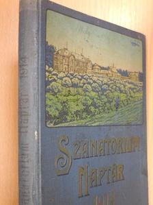 Bács Imre - Szanatorium Naptár 1914 [antikvár]