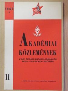 Dr. Farkas Róbert - Akadémiai Közlemények 1967/4 [antikvár]