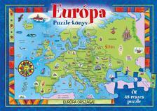 EURÓPA - PUZZLE-KÖNYV ***
