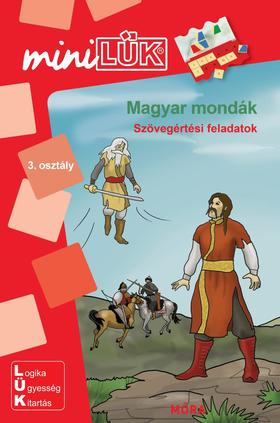 LDI259 - Magyar mondák - Szövegértési feladatok - miniLÜK