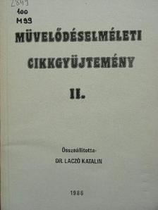 Ágh Attila - Művelődéselméleti cikkgyűjtemény II. [antikvár]