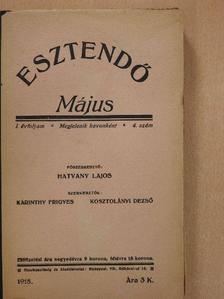 Havas Gyula - Esztendő 1918. május [antikvár]
