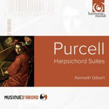 PURCELL - HARPSICHORD SUITES CD GILBERT