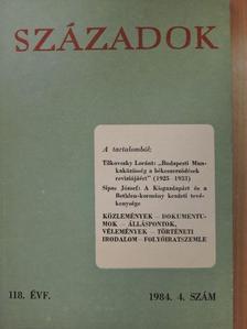 Czövek István - Századok 1984/4. [antikvár]