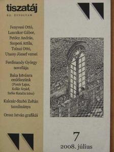 Annus József - Tiszatáj 1970., 1988., 1993-1994., 2008. (vegyes számok, 10 db) [antikvár]