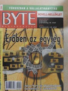 Fischer Erik - Byte Magyarország 2001. október [antikvár]