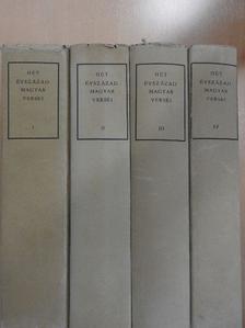 Ábrányi Emil - Hét évszázad magyar versei I-IV. [antikvár]