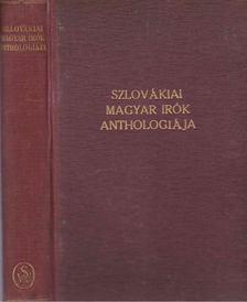 Szlovákiai magyar írók anthologiája [antikvár]