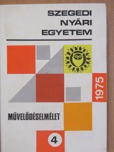 Dr. Bimbó Mihály - Szegedi Nyári Egyetem 1975 [antikvár]