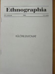 Ozsváth Gábor Dániel - Ethnographia 2002. Különlenyomat [antikvár]