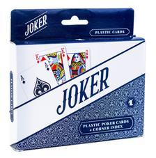 Joker dupla - 100% plasztik póker kártya, 4 indexes