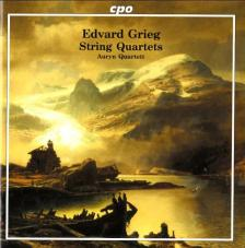 GRIEG - STRING QUARTETS OP.27 IN G MAJOR, IN F MAJOR CD AURYN QUARTETT
