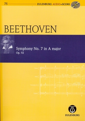 BEETHOVEN - SYMPHONY NO.7 IN A MAJOR OP.92 POCKET SCORE + CD, EDITED BY RICHARD CLARKE