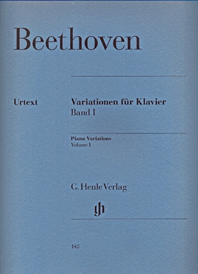 BEETHOVEN - VARIATIONEN FÜR KLAVIER BAND I URTEXT (SCHMIDT-GÖRG / GEORGII)