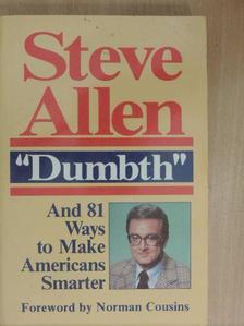 Steve Allen - Dumbth [antikvár]