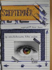 Fehér Bence - Szeptember (dedikált példány) [antikvár]