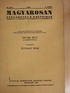 Balassa József - Magyarosan 1940/3. [antikvár]