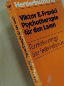 Viktor E. Frankl - Psychotherapie für den Laien [antikvár]