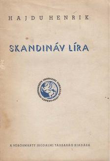 Hajdu Henrik - Skandináv líra (Dedikált) [antikvár]