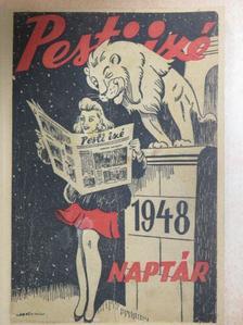Barát Endre - Pesti izé Naptár 1948 [antikvár]