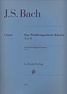 BACH, J.S. - DAS WOHLTEMPERIERTE KLAVIER TEIL II URTEXT (YO TOMITA), OHNE FINGERSATZ