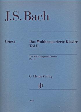 J. S. Bach - DAS WOHLTEMPERIERTE KLAVIER TEIL II URTEXT (YO TOMITA), OHNE FINGERSATZ