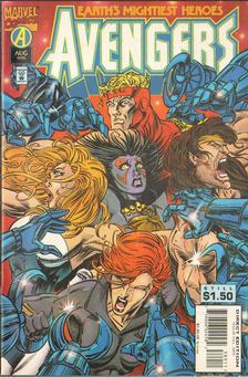 Kavanagh, Terry, Harras, Bob, Laguna, Fabio - The Avengers Vol. 1. No. 389 [antikvár]