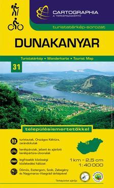 """Cartographia - Dunakarnyar turistatérkép """"SC"""""""
